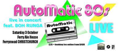AutoMatic 80s - CHCH October