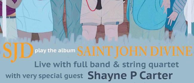 SJD with string quartet & Shayne P Carter (solo)