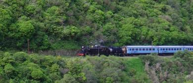 Manawatu Gorge Steam Railway Excursion