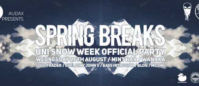 Spring Breaks / Uni Snow Week Official Party