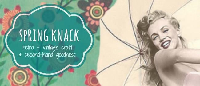 Spring Knack Craft and Retro Market