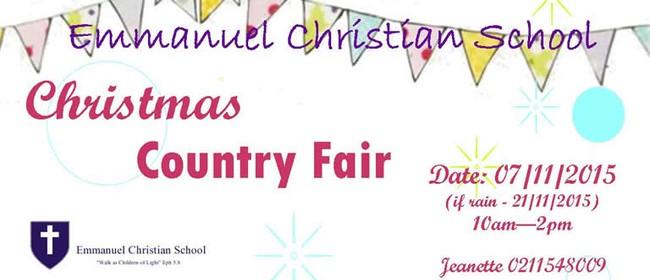 Emmanuel Christian School Fair