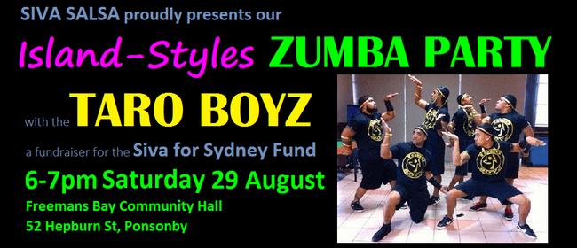 Island Styles Zumba Party with the Taro Boyz