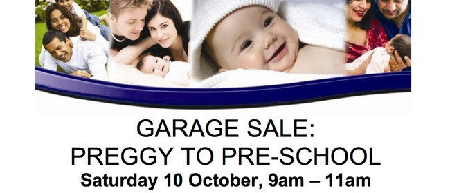 Preggy to Preschool Garage Sale