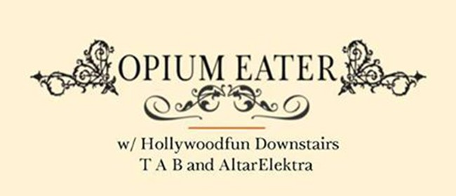 Opium Eater and guests