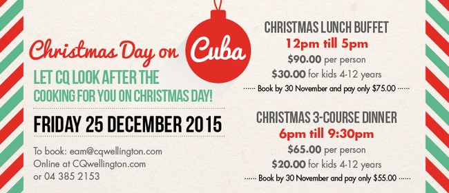 Christmas Day on Cuba
