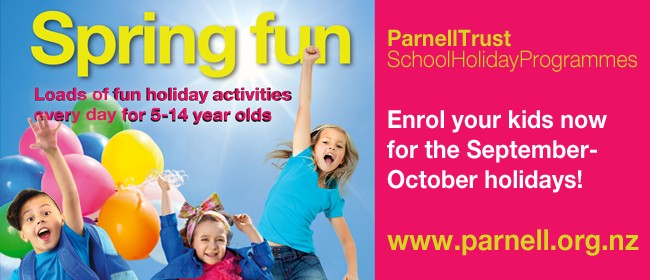 Lights,Camera, Action!  - Parnell Trust School Holidays