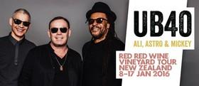 UB40 Red Red Wine Vineyard Tour