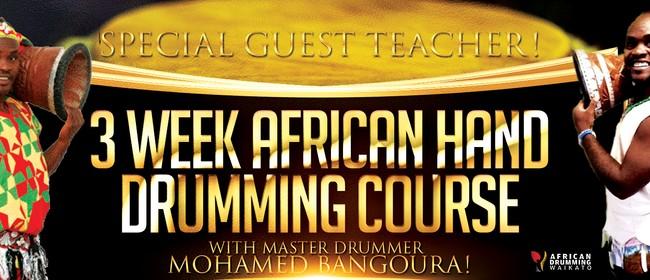 3 Week African Hand Drumming Workshop