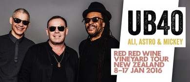 UB40 Red Red Wine Vineyard Tour