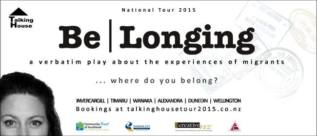 National Verbatim Tour: Be|Longing