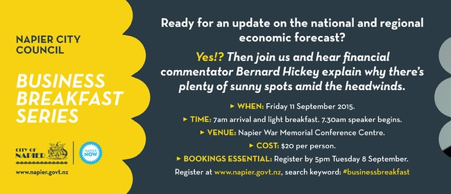 Business Breakfast Series with Bernard Hickey