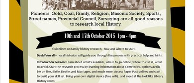 Genealogy - Beginners workshop 10 Oct
