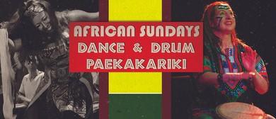 African Sundays: Drum & Dance Paekakariki