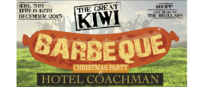 The Great Kiwi BBQ - Palmerston North Christmas Parties