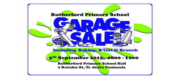 School Garage, Bake and Brunch Sale