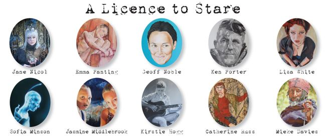 """A Licence to Stare"" Portrait Exhibition"