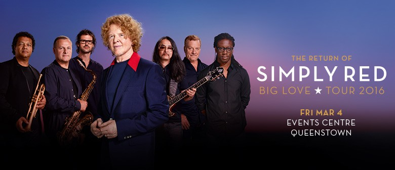 The Return of Simply Red: Big Love tour 2016