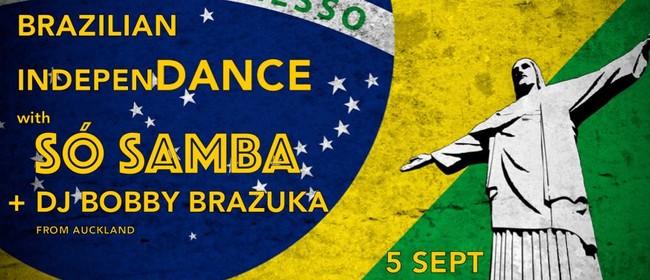 Brazilian IndepenDance: So Samba+DJ Bobby Brazuka