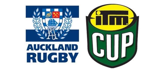 ITM Cup 2015 - Auckland v Manawatu