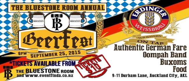 The Bluestone Room Annual Beerfest 2015