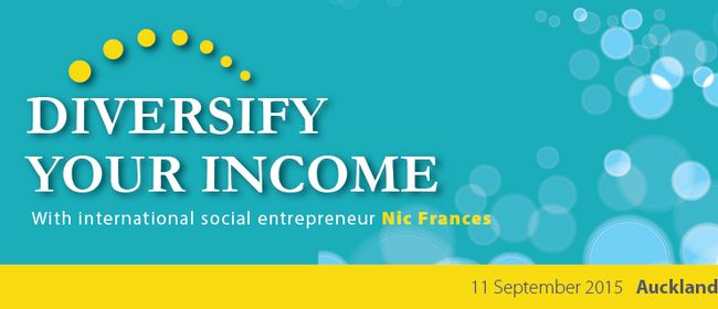 NFPs - Diversify Your Income Workshop With Nic Frances