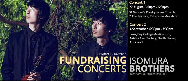 Violin & Piano Duo - Isomura Brothers Fundraising Concert