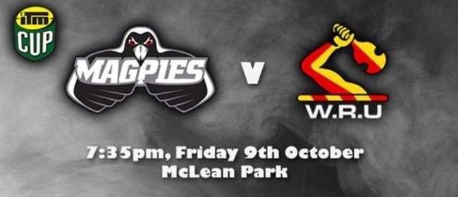 ITM Cup 2015 - Magpies v Waikato