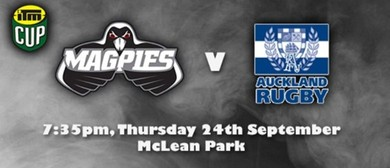 ITM Cup 2015 - Magpies v Auckland