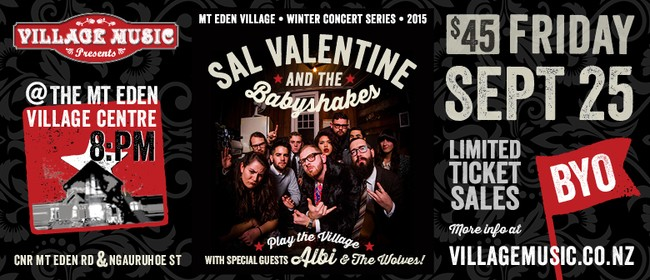 Sal Valentine & The Babyshakes Play The Village!