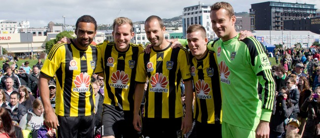 Wellington Phoenix Family Day