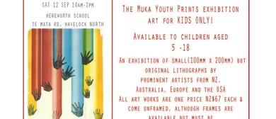 Muka Print Exhibition - Art for Kids