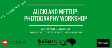 Auckland Meetup: Photography Workshop