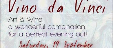 Vino da Vinci, Painting-Wine Tasting
