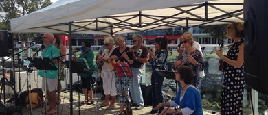 Fathers Day with the Russell Ukulele Orchestra
