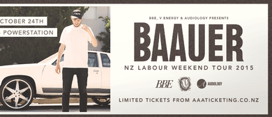 Baauer - Auckland (Powerstation)