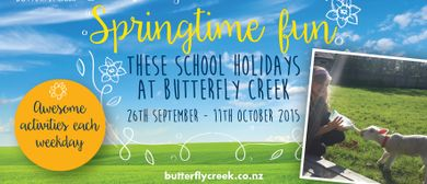 Springtime Fun These School Holidays