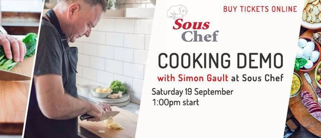 Simon Gault Cooking Demo - The Ultimate Brunch