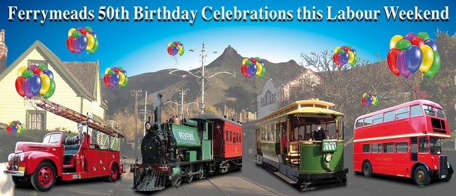 Ferrymead Heritage Park 50th Anniversary Celebration