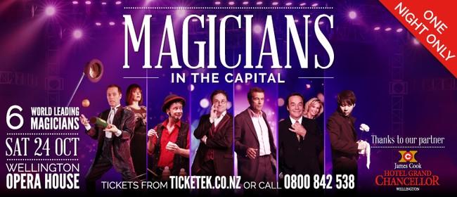 Magicians in the Capital - Magic & Illusion Show