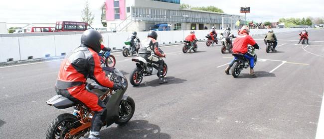 2015 Tools4work NZ National Secondary Schools Mini Moto Race