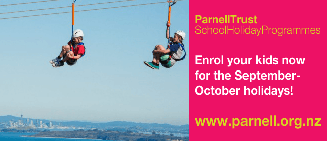Sky High on Waiheke  - Parnell Trust School Holidays