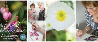 Botanical Watercolour Talk & Workshop Taster- Jenny Coker