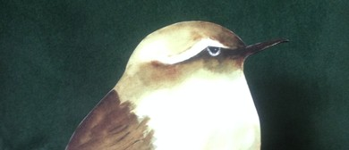 Exhibition of Original Birds on Signs Art and Auction