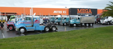 Mitre 10 MEGA Ride in a Truck Day