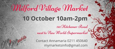 Milford Village Markets: CANCELLED