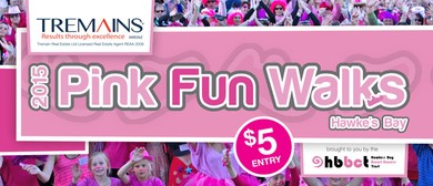 Tremains 2015 Pink  Fun Walks