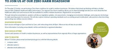 NZ Transpot Agency - Zero Harm Roadshow