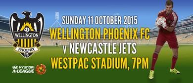 Hyundai A-League Football - Wellington Phoenix v Jets