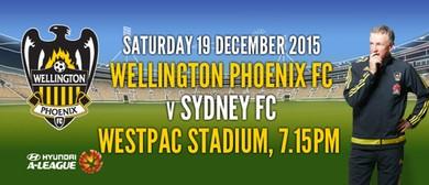 Hyundai A-League Football - Wellington Phoenix v Sydney FC